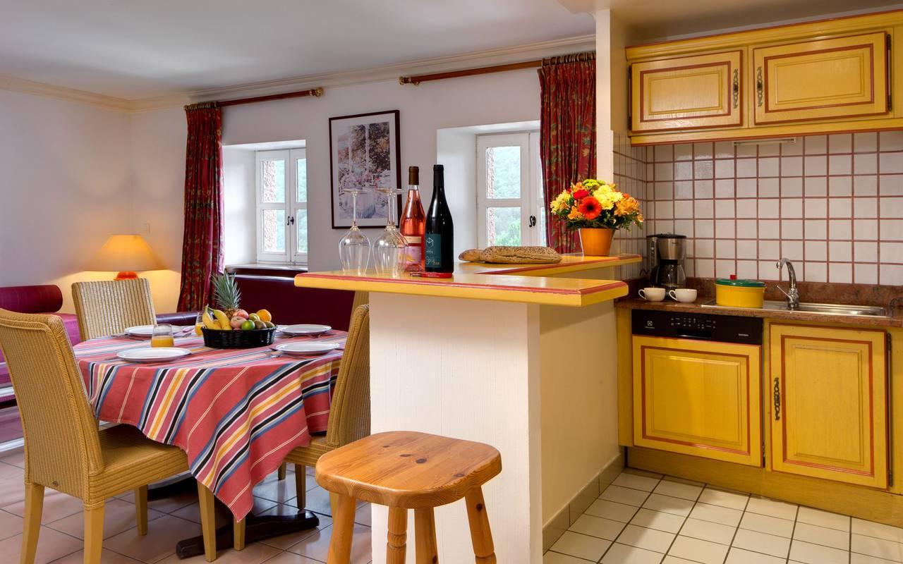 Kitchen accommodation roussillon