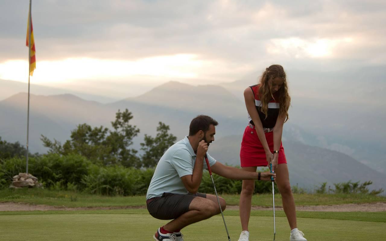 amelie les bains vacation golf course