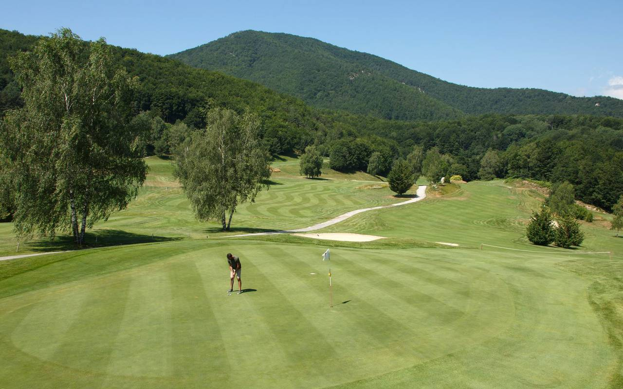 Grand hotel mountain pyrenees golf course