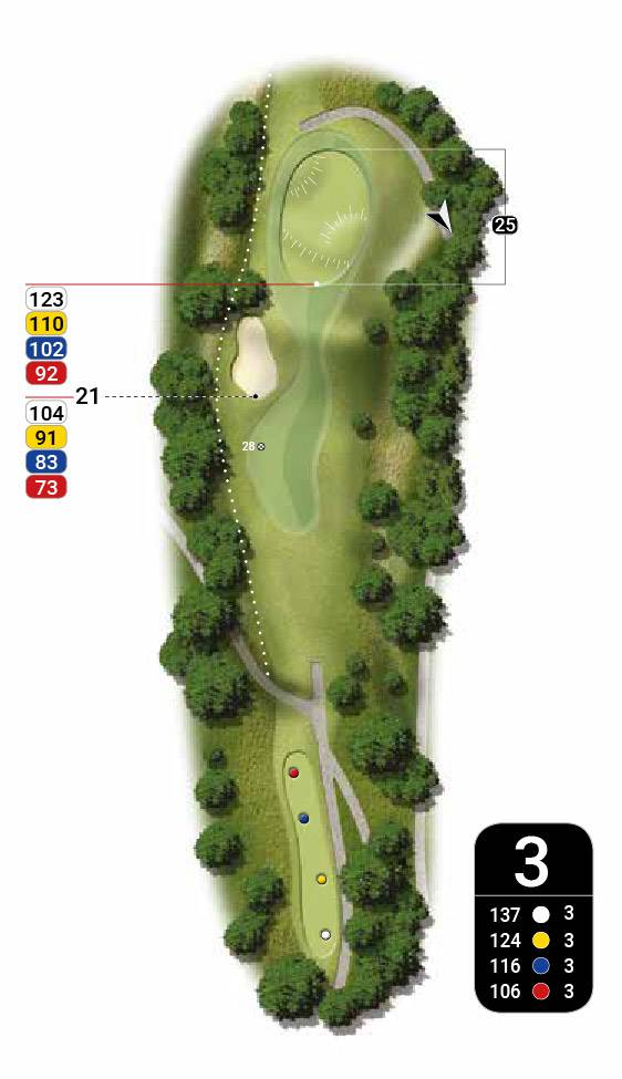 Map 3 of golf roussillon