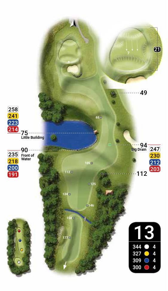 plan 13 golf catalogne