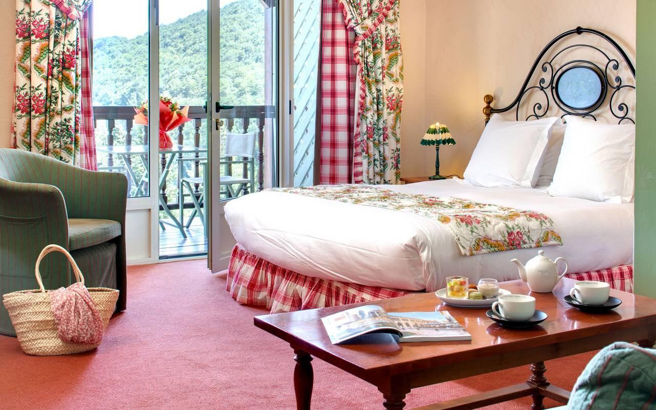 Habitación encantadora hotel de lujo occitania