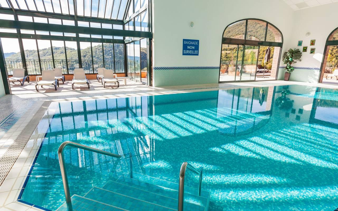 piscina luminosa spa pirineos