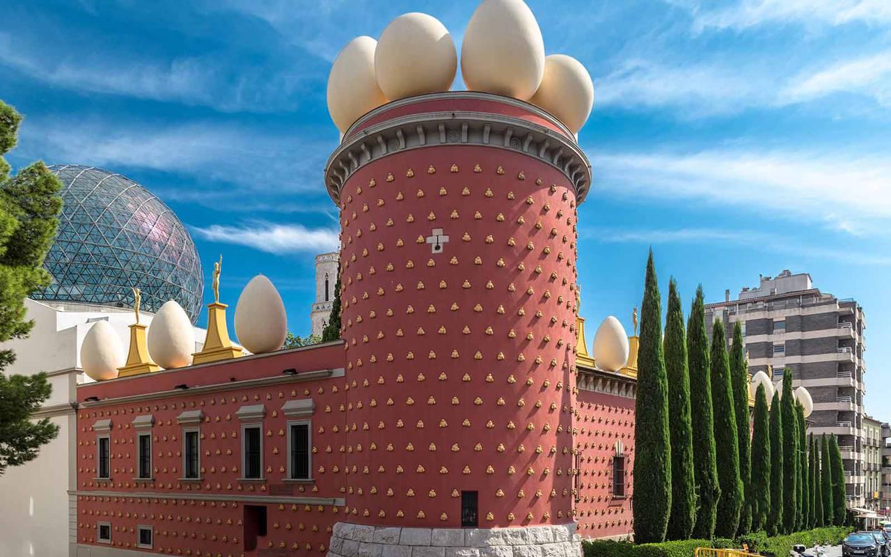 Ceret de fin de semana del museo Dalí