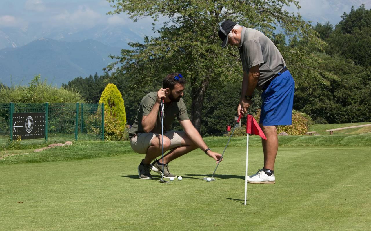 Cours de golf hotel pyrenees