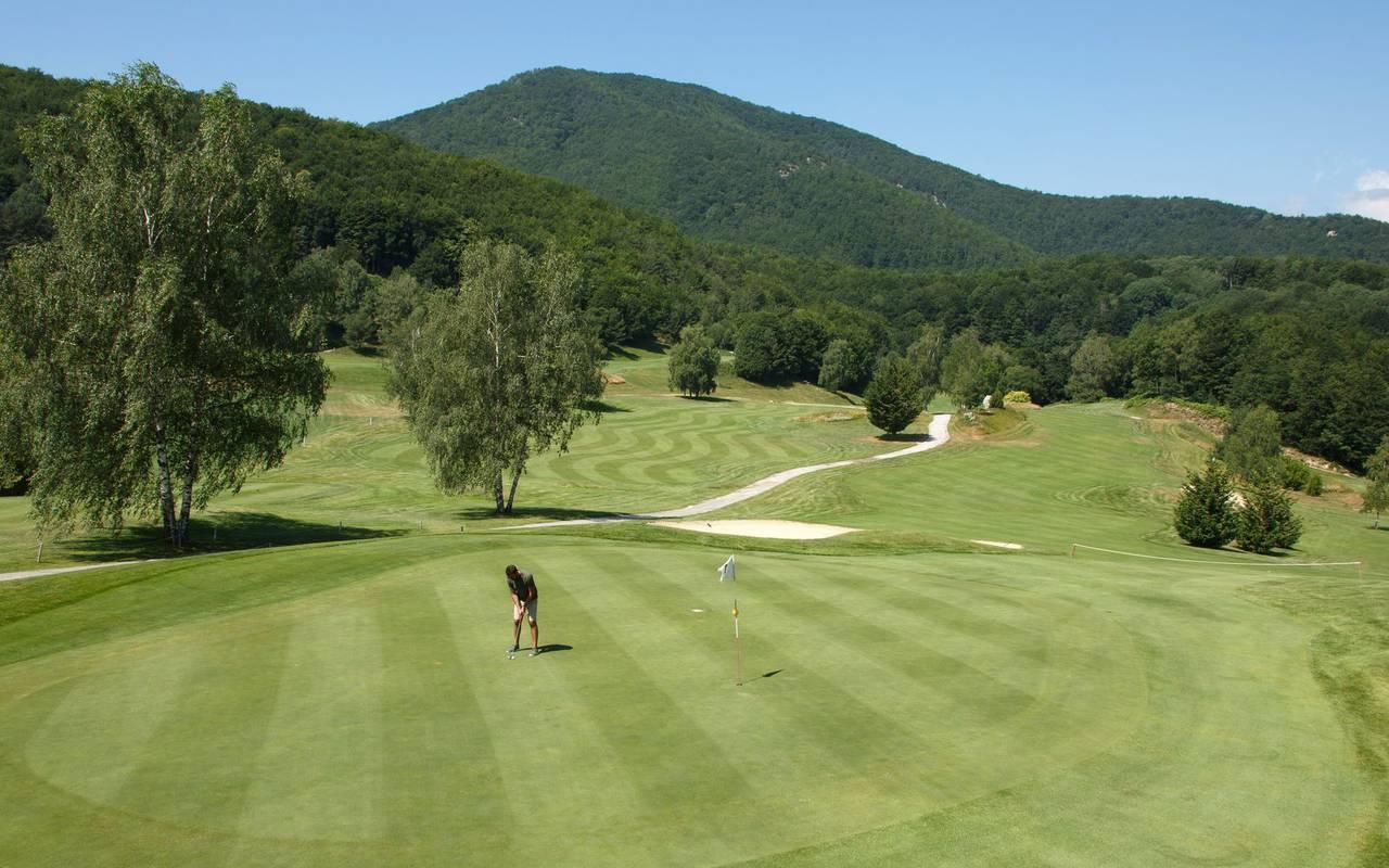 Grand parcours de golf hotel montagne pyrénées